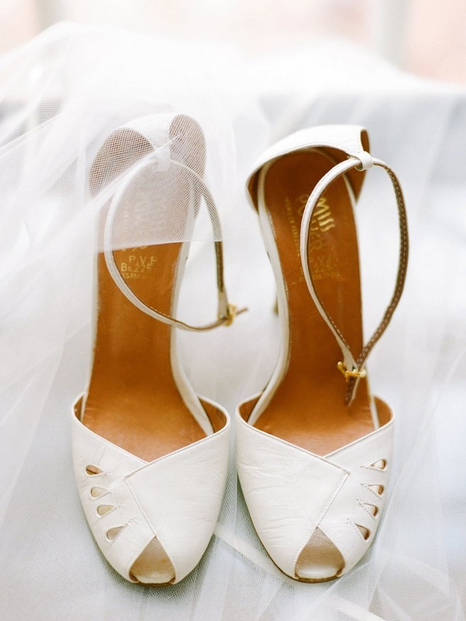Wedding Open Toe Pumps With Ankle Straps