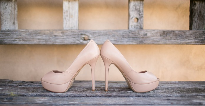 Wedding Open Toe Pumps With Platform