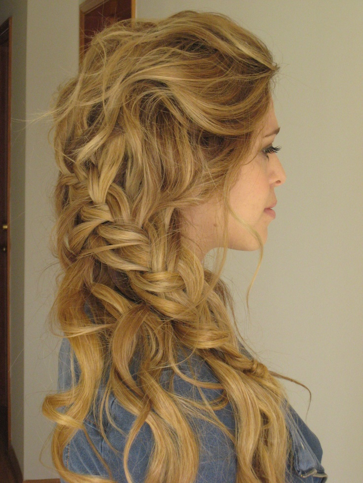 Weekend Hairstyle - The Boho Braid