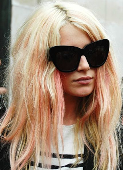 Weekend Hairstyle - The Color Highlighted hair