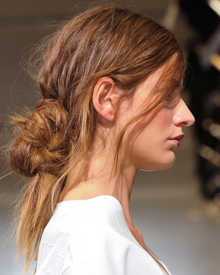 Weekend Hairstyle - The Effortless Chignon