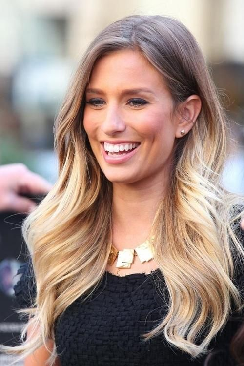 Weekend Hairstyle - The Long Wavy Ombre Hair