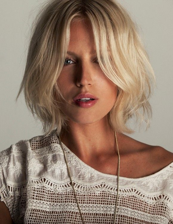 Weekend Hairstyle - The Messy Bob
