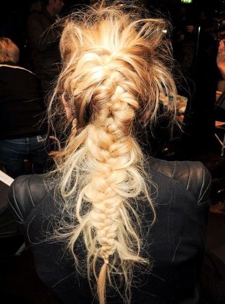Weekend Hairstyle - The Messy Braided Hair