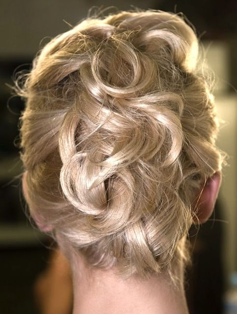 Weekend Hairstyle - The Piled and Pinned Up-do