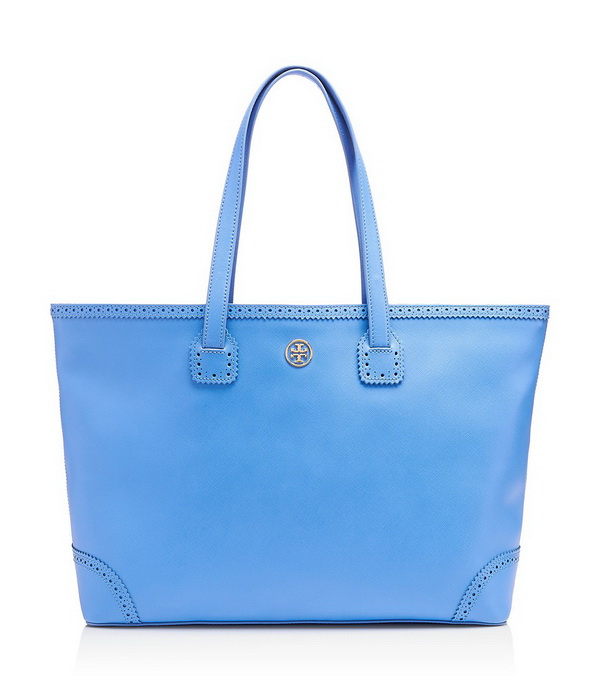 blue unique tote