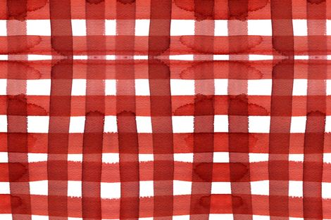 Red Patten Gingham