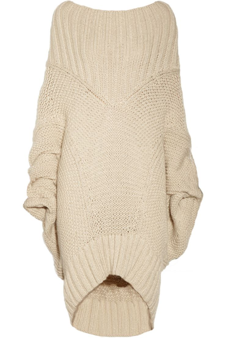 Merino Wool & Mohair Sweater - Donna Karan