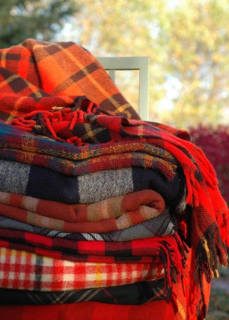 Plaid Flannel Blanket