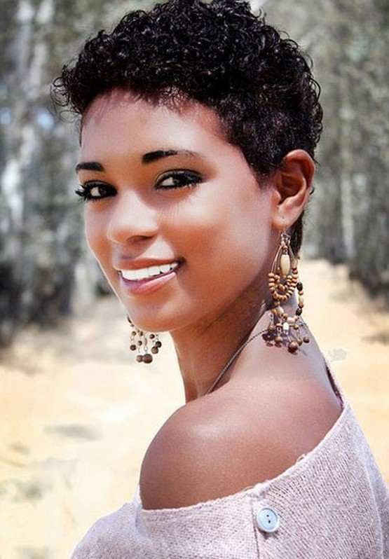 African American Natural Hairstyles hairstyles for black women with natural hair female area Short Curly Haircuts For African American Women