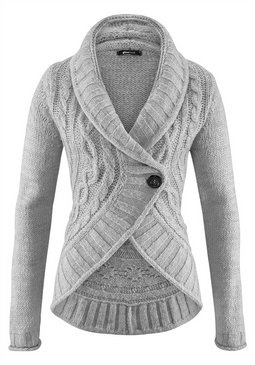Long Sleeve Grey Sweater