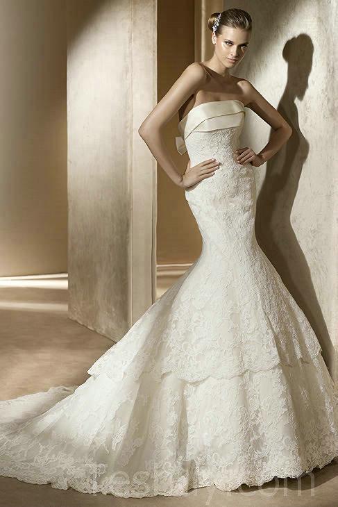 top 15 fascinating mermaid wedding dresses