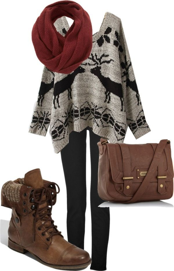 12 Amazing Sweater Outfit Ideas For 2017 Fall Winter Look Pretty Designs