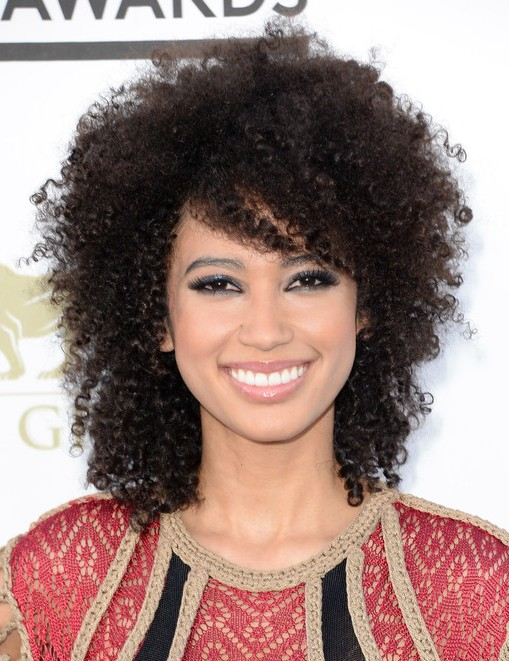 2014 Andy Allo Medium Hairstyles