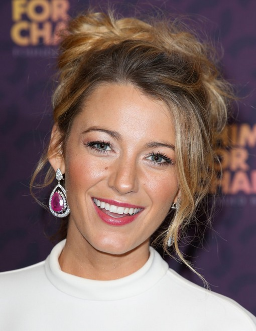 2014 blake lively hairstyles messy updo pretty designs 2014 blake lively hairstyles messy updo pmusecretfo Gallery