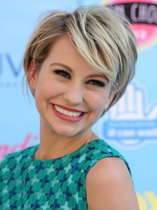 2014 Chelsea Kane's Short Hairstyles: Layered Pixie Hair ...