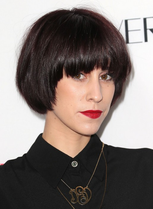 2014 Devin Star Tailes' Short Hairstyles: Cute Bob Haircut for Straight Hair