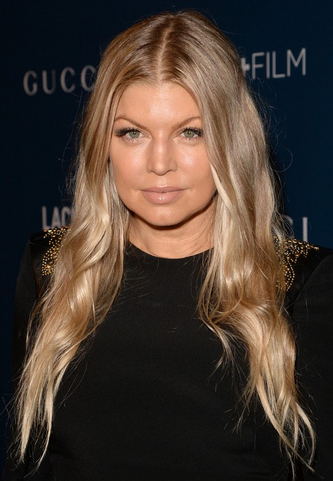 2014 Fergie Hairstyles: Ombre Long Hair