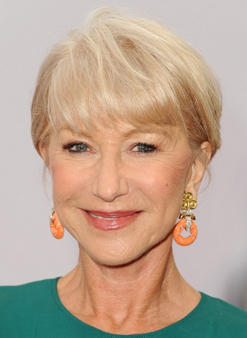 2014 Helen Mirren's Short Hairstyles: Short Hair for Women Over 60+