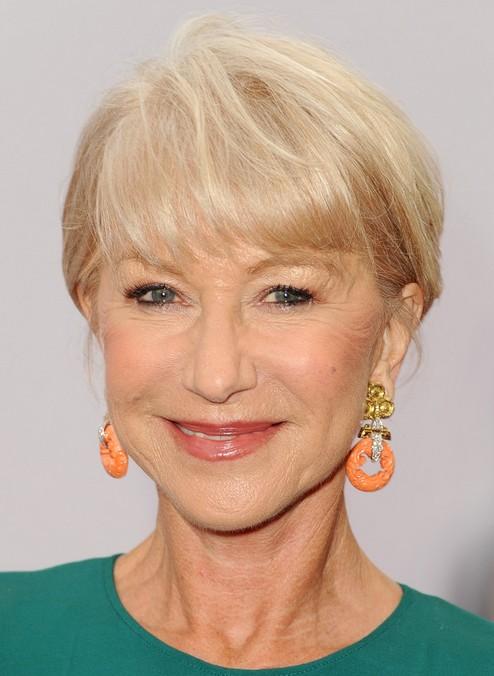 2014 Helen Mirren's Short Hairstyles: Short Hair for Women Over 60+