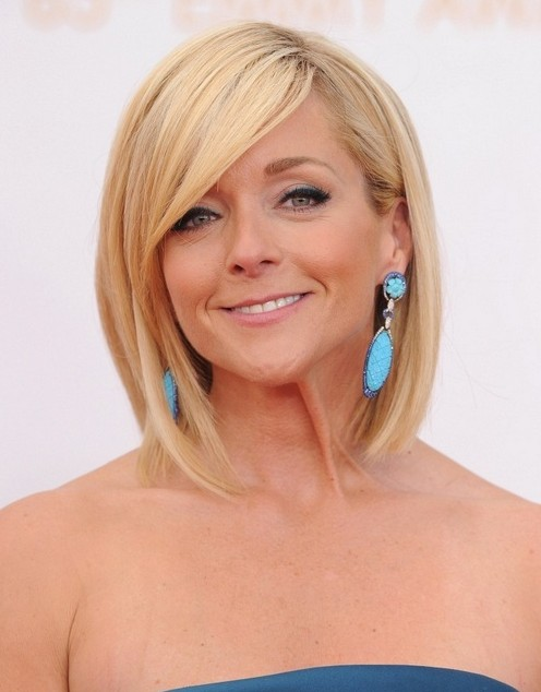 2014 Jane Krakowski's Short Hairstyles: Straight Bob