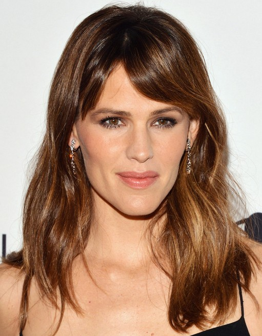 2014 Jennifer Garner Hairstyles: Medium Hair