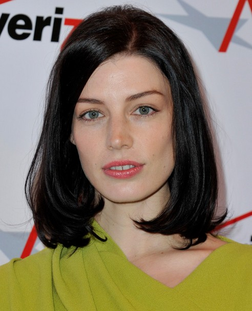 2014 Jessica Pare Medium Hairstyles: Long Bob