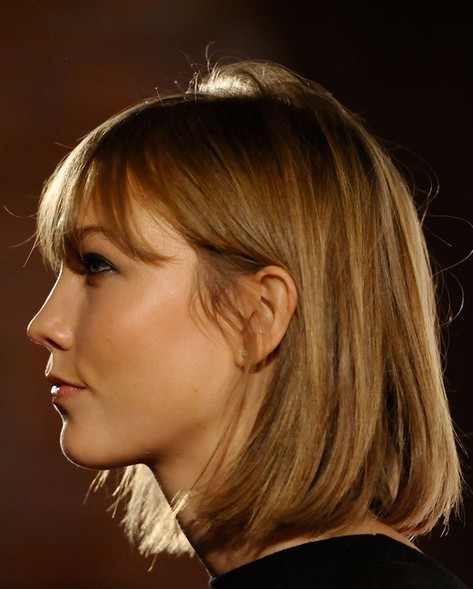 2014 Karlie Kloss Hairstyles: Classic Bob Haircut - Pretty Designs