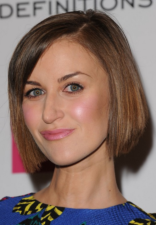 2014 Katherine Kelly's Short Hairstyles: Easy Blunt Bob