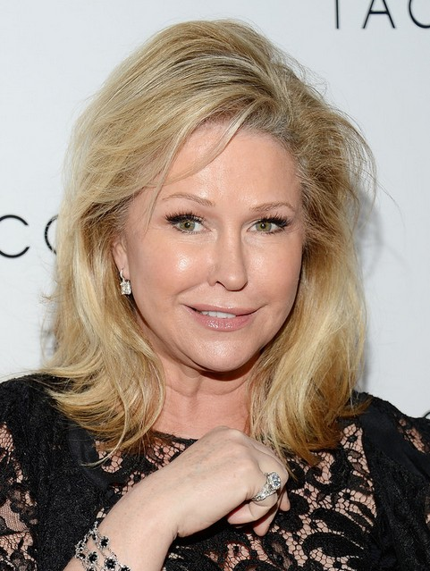 2014 Kathy Hilton Medium Hairstyles: Women Over 50 Haircut