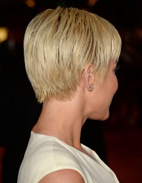 2014 Kellie Pickler' Short Hairstyles: Layered Cut