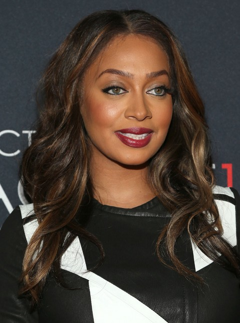 2014 La La Anthony Hairstyles: Brown Long Hair