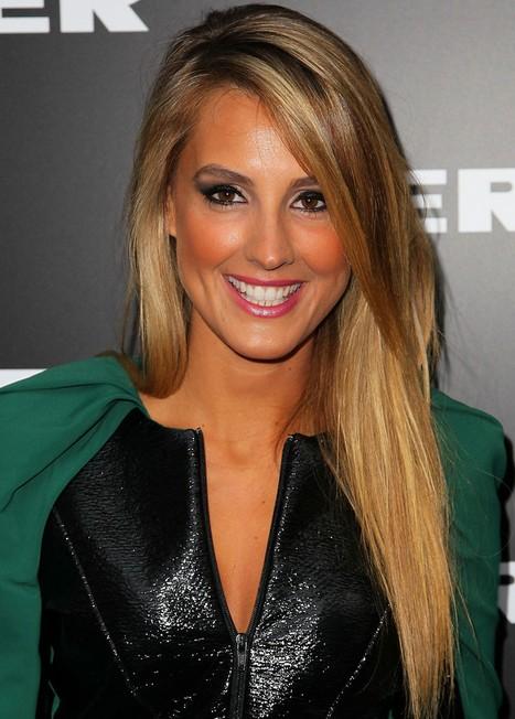 2014 Laura Dundovic Hairstyles Long Straight Hair