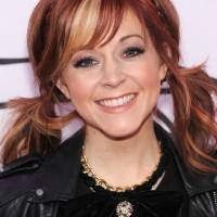 2014 Lindsey Stirling Medium Hairstyles: Cute Two Low Pigtails