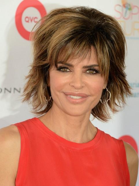 2014 Lisa Rinna's Hairstyles: Voluminous Short Hair