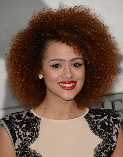 2014 Nathalie Emmanuel Medium Hairstyles