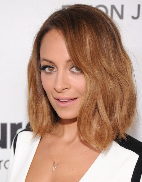 2014 Nicole Richie Medium Hairstyles