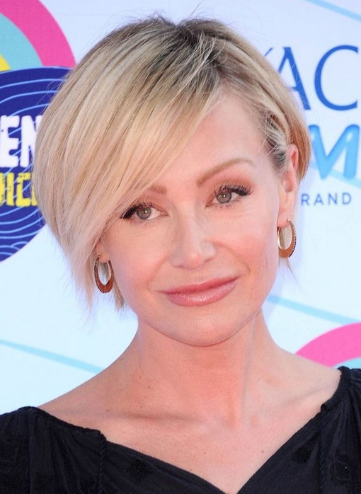 Portia de Rossi short haircut