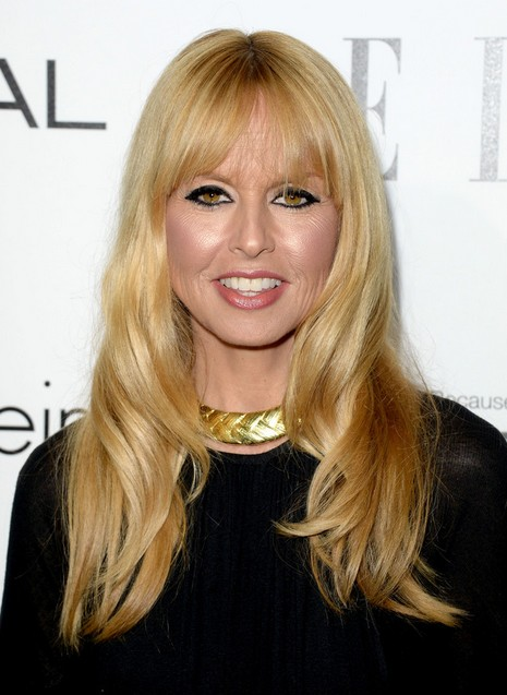 2014 Rachel Zoe Hairstyles: Long Hair with Short Bangs