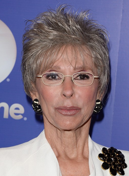 2014 Rita Moreno's Short Hairstyles: Pixie Haircut for Women Over 60