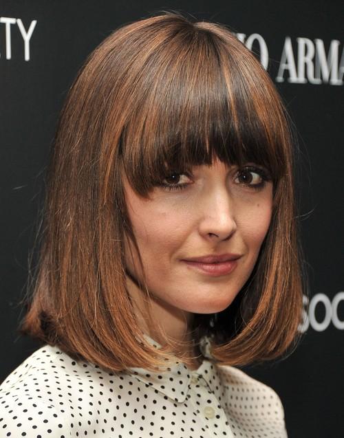 Admirable 2014 Rose Byrne Medium Haircut Trendy Bob Hairstyle Pretty Designs Short Hairstyles Gunalazisus