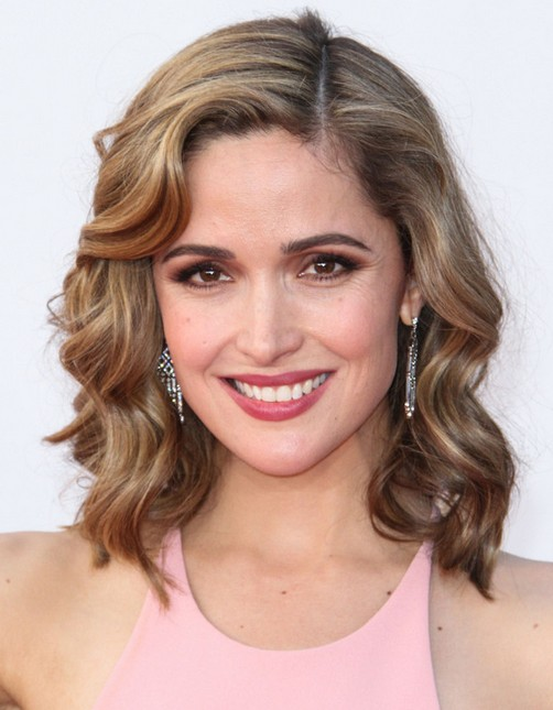2014 Rose Byrne Medium Hairstyles: Playful Curls