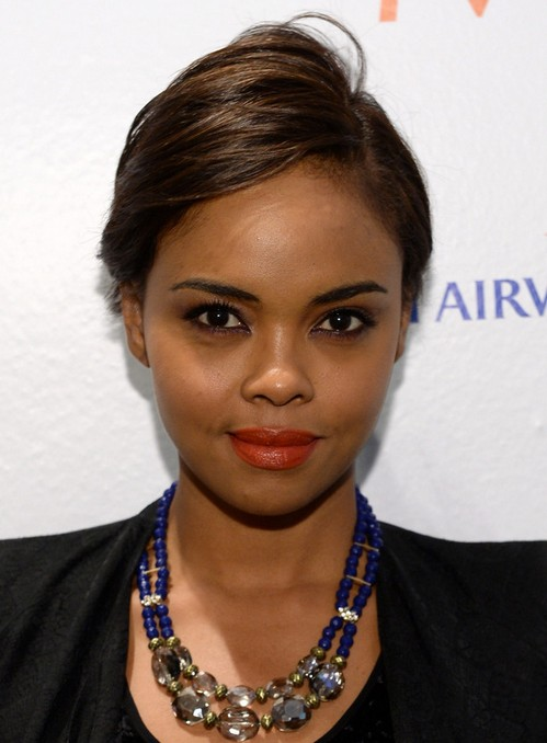 2014 Sharon Leal's Short Hairstyles: Easy Cut