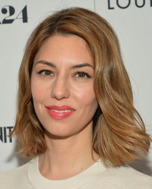 2014 Sofia Coppola Medium Hairstyles