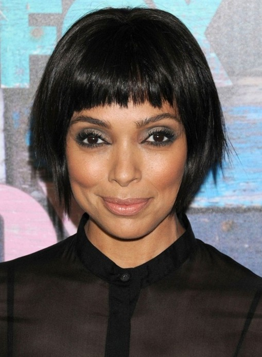 Astonishing 2014 Tamara Taylor39S Short Hairstyles Cute Bob For Black Women Hairstyle Inspiration Daily Dogsangcom