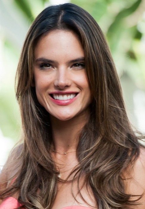 24 alessandra ambrosio hairstyles celebrity alessandra hair alessandra ambrosio long hairstyle brown hair with curly ends pmusecretfo Gallery