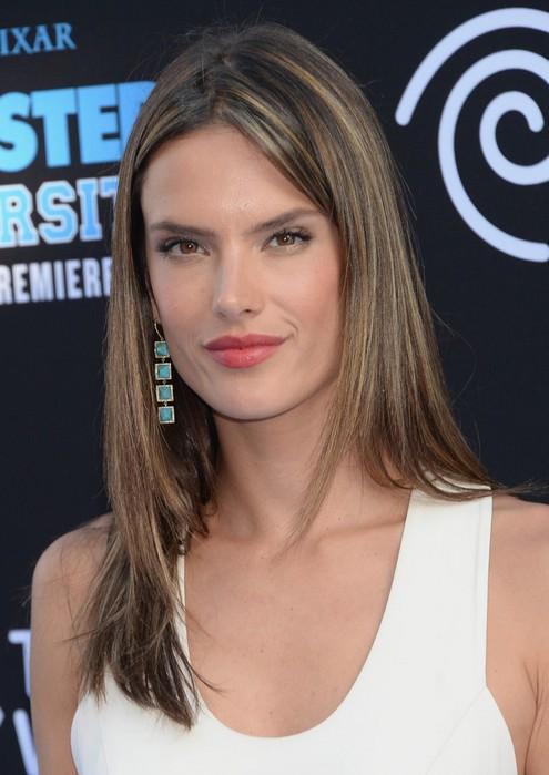 24 Alessandra Ambrosio Hairstyles Celebrity Alessandra Hair