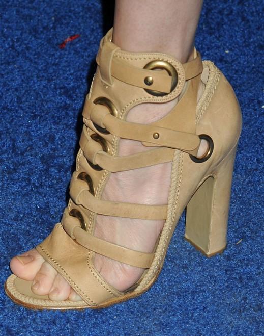 Amanda Hearst's Gladiator Heels