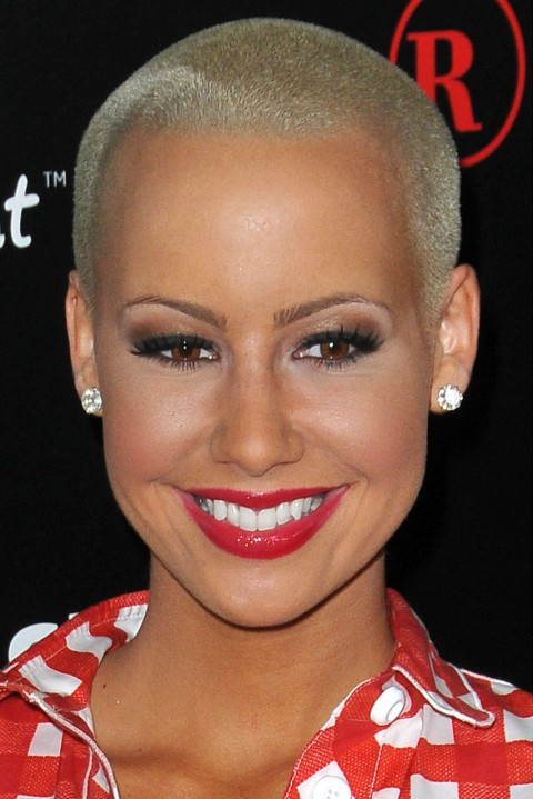 Amber-Rose's short hairstyles