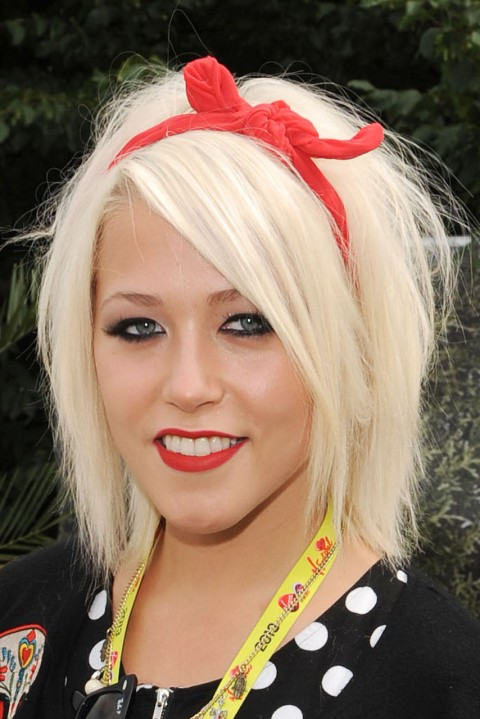 Amelia-Lily's short hairstyles